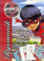 Biedronka i Czarny Kot. Rysownik - okładka książki