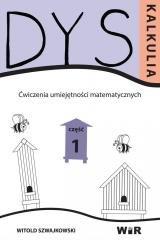 Dyskalkulia. Ćwiczenia umiejętności - okładka książki