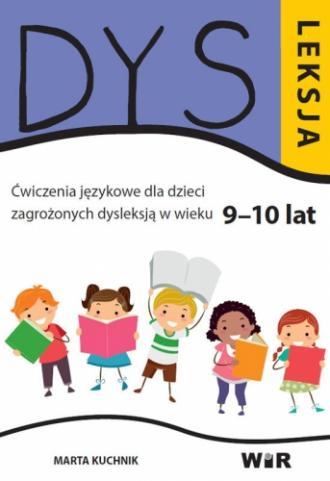 Dysleksja. Ćwiczenia językowe dla - okładka książki