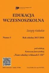Edukacja wczesnoszkolna nr 3 2017/2018 - okładka podręcznika