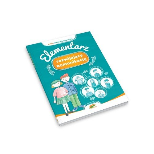 Elementarz rozwijający komunikację - okładka książki