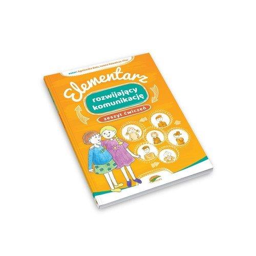 Elementarz rozwijający komunikację. - okładka książki