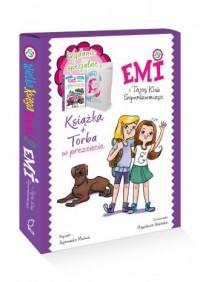 Emi i Tajny Klub... Wielka księga przygód. Tom 2 (+ torba) - okładka książki
