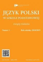 Język polski w szkole podstawowej - okładka podręcznika