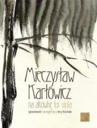 Karłowicz na altówkę - okładka podręcznika
