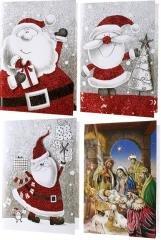 Kartka A5 grająca 3D Boże Narodzenie - zdjęcie produktu