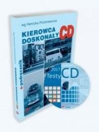 Kierowca doskonały CD. Podręcznik kierowcy (+ CD) - okładka książki