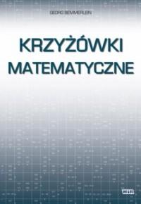 Krzyżówki matematyczne - okładka książki