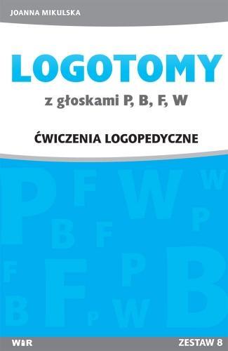 LOGOTOMY z głoskami P,B,F,W - okładka książki