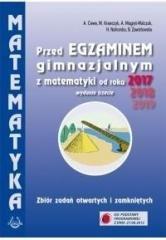 Matematyka. Zbiór zadań przed egzaminem - okładka podręcznika
