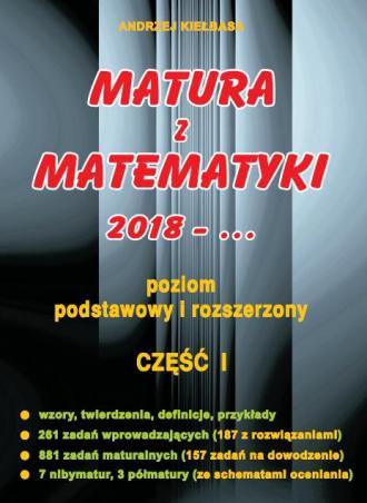 Matura z Matematyki cz. 1 - okładka podręcznika