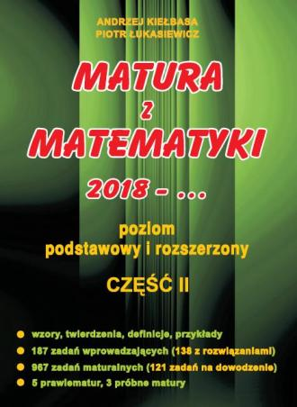 Matura z Matematyki cz. 2 - okładka podręcznika