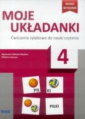 Moje układanki 4. Ćwiczenia sylabowe - okładka podręcznika
