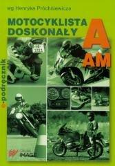 Motocyklista doskonały A. Podręcznik - okładka książki