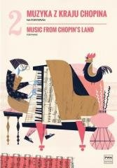 Muzyka z kraju Chopina. Zeszyt - okładka książki