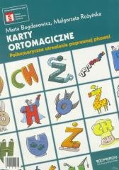 Ortograffiti SP. Karty ortomagiczne - okładka podręcznika