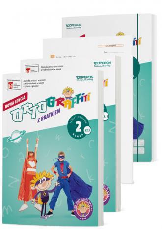 Ortograffiti SP Pakiet z Bratkiem. - okładka podręcznika
