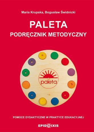 PALETA. Podręcznik metodyczny. - okładka książki