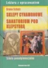 Sklepy cynamonowe. Sanatorium pod - okładka podręcznika