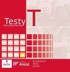Testy T + skrzyżowania CD - okładka książki