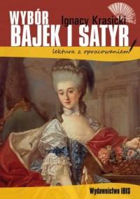 Wybór bajek i satyr z opracowaniem - okładka książki