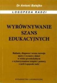 Wyrównywanie szans edukacyjnych - okładka książki