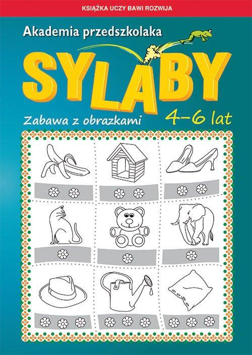 Akademia przedszkolaka Sylaby. - okładka podręcznika