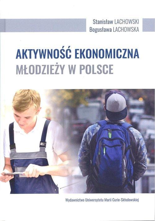 Aktywność ekonomiczna młodzieży - okładka książki