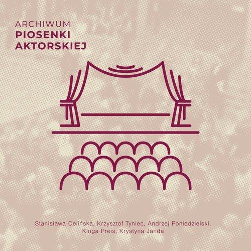 Archiwum piosenki aktorskiej - okładka płyty