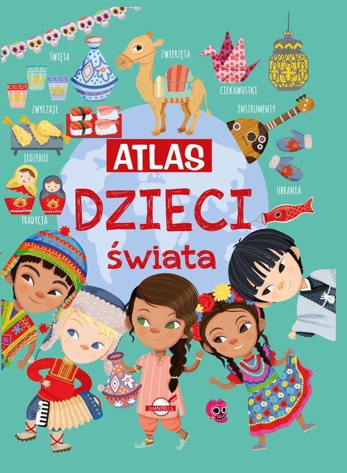 Atlas dzieci świata - okładka książki