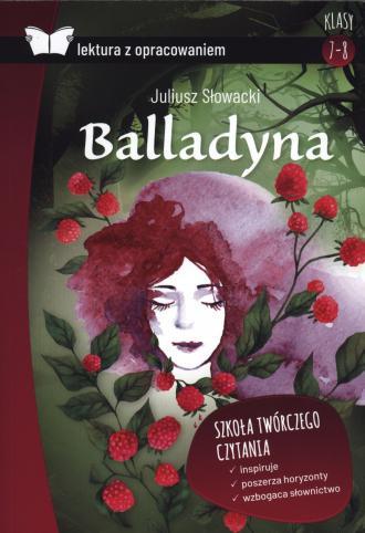 Balladyna lektura z opracowaniem - okładka książki