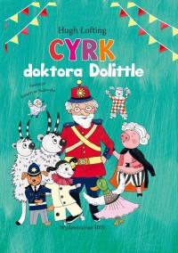 Cyrk doktora Dolitlla - okładka książki