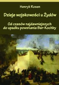 Dzieje wojskowości u Żydów - okładka książki