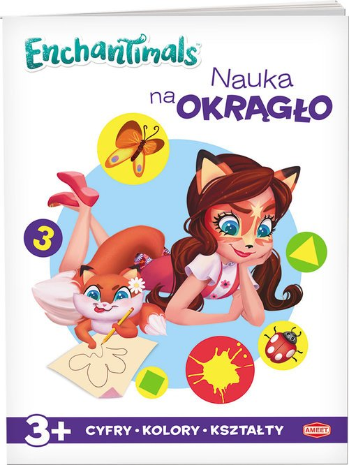 Enchantimals Nauka na okrągło. - okładka książki