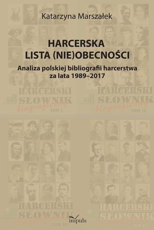Harcerska lista (nie)obecności - okładka książki