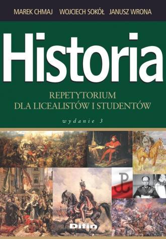 Historia. Repetytorium dla licealistów - okładka podręcznika