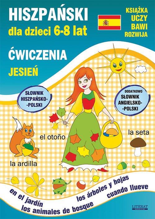 Hiszpański dla dzieci 6-8 lat Ćwiczenia - okładka podręcznika