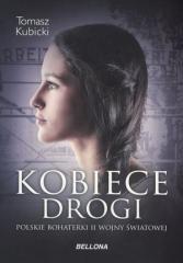 Kobiece drogi. Polskie bohaterki - okładka książki