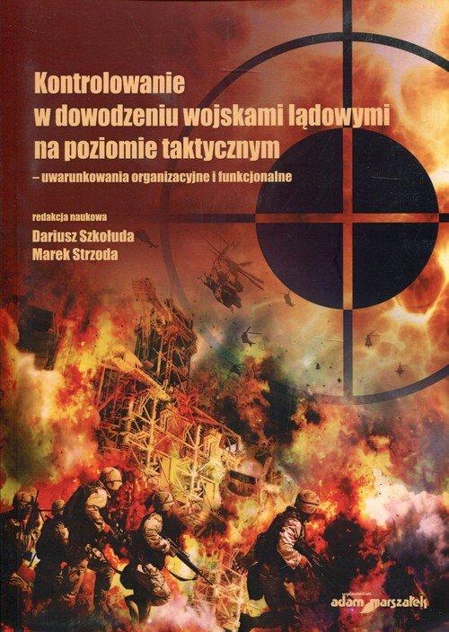 Kontrolowanie w dowodzeniu wojskami - okładka książki