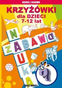 Krzyżówki dla dzieci 7-12 lat - okładka książki
