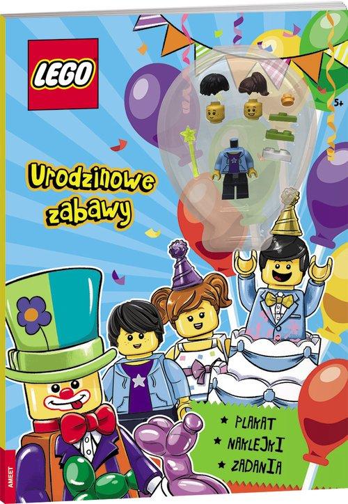 LEGO Urodzinowe zabawy. BBA-6601 - okładka książki