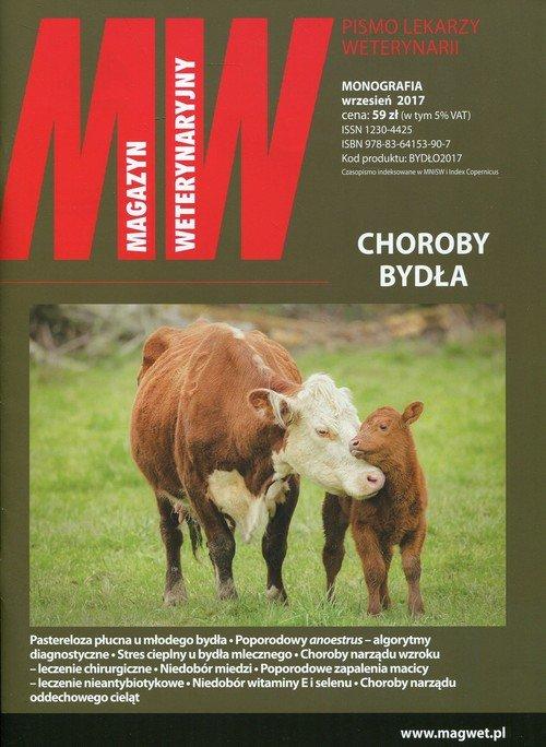 Magazyn Weterynaryjny Choroby bydła - okładka książki