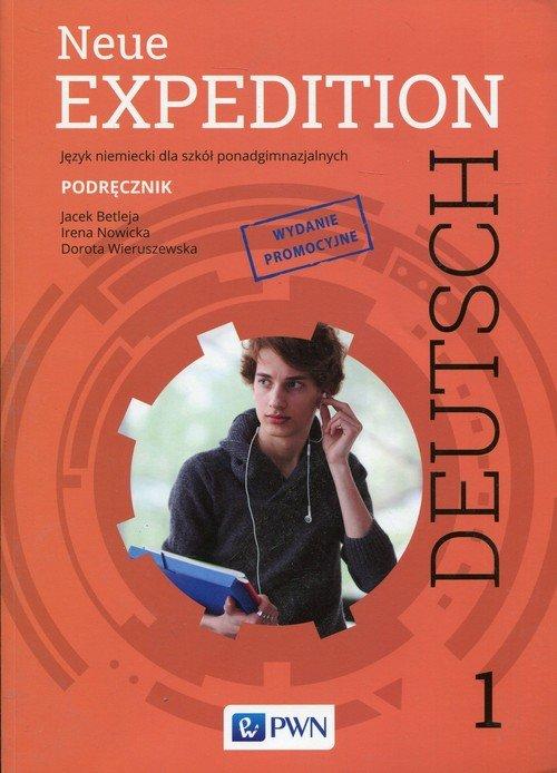 Neue Expedition Deutsch 1 Podręcznik. - okładka podręcznika