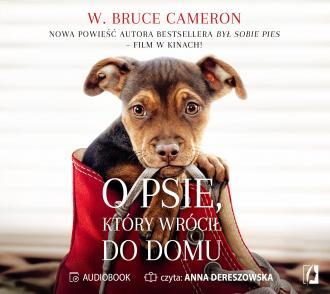 O psie który wrócił do domu - pudełko audiobooku