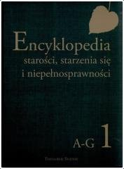 Encyklopedia starości, starzenia - okładka książki
