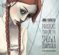 Paradoks marionetki. Sprawa Zegarmistrza - pudełko audiobooku