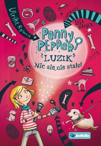 Penny Pepper Luzik nic się nie - okładka książki
