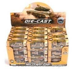 Pojazdy wojskowe 1:64 metalowe, - zdjęcie zabawki, gry