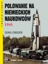 Polowanie na niemieckich naukowców - okładka książki