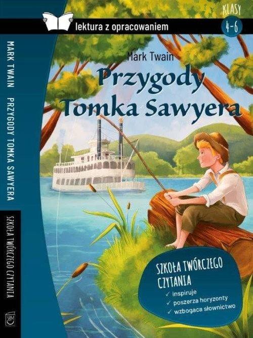 Przygody Tomka Sawyera. Mark Twain. - okładka podręcznika